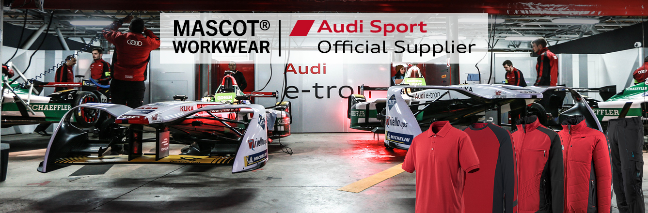 mascot workwear audi sport official supplier onken. Black Bedroom Furniture Sets. Home Design Ideas